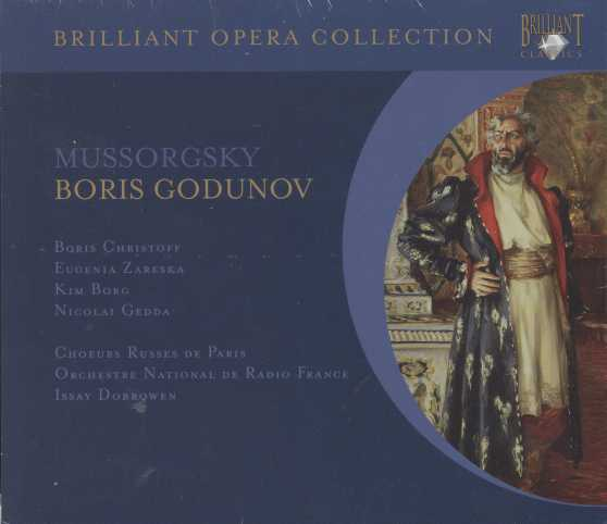 Modest Mussorgsky / Boris Godunov / Boris Christoff / Eugenia Zareska / Orchestre National de Radio France / Issay Dobrowen
