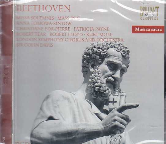 Ludwig van Beethoven / Missa Solemnis / Mass in C / London Symphony Orchestra & Chorus / Colin Davis