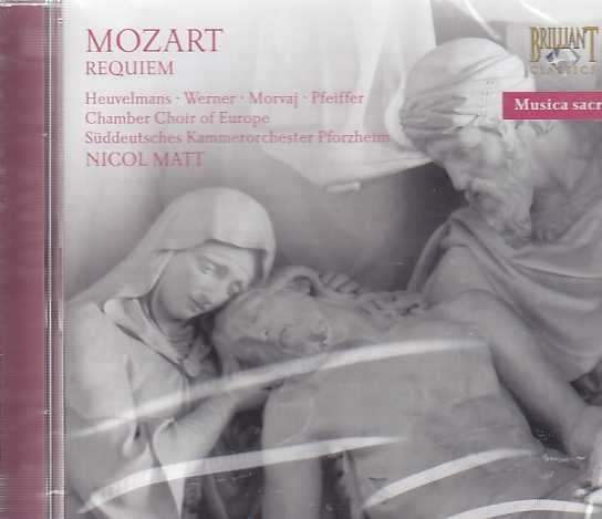 W.A. Mozart / Requiem / Süddeutsche Kammerorchester Pforzheim / Chamber Choir of Europe / Nicol Matt