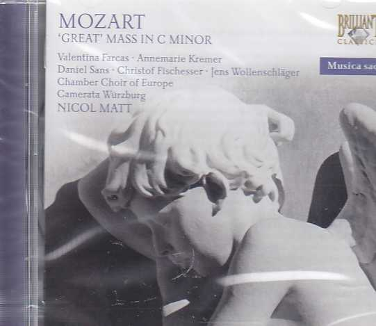W.A. Mozart / Mass in C Minor K427 / Camerata Würzburg / Chamber Choir of Europe / Nicol Matt