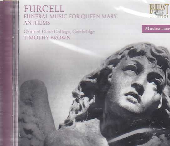 Henry Purcell / Sacred Music / Funeral Sentences for Queen Mary