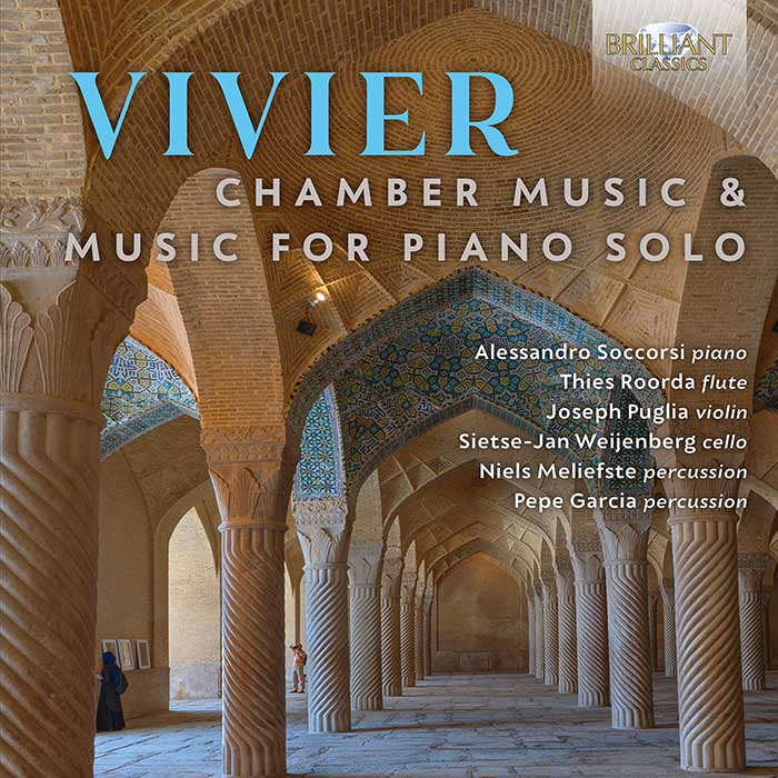 Claude Vivier / Chamber Music & Music for Piano Solo // Alessandro Soccorsi / Thies Roorda / Joseph Puglia / Sietse-Jan Weijenberg / Niels Meliefste / Pepe Garcia