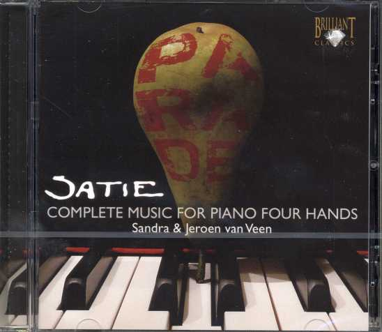 Erik Satie / Complete Music for Piano Four Hands / Sandra & Jeroen van Veen