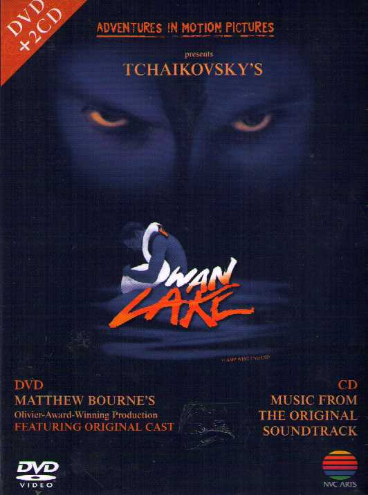 Pyotr Tchaikovsky / Swan Lake / Adventures in Motion Pictures / Matthew Bourne DVD