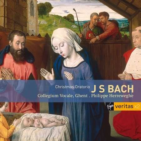 J.S. Bach / Christmas Oratorio (Weihnachtsoratorium) // Barbara Schlick / Michael Chance / Howard Crook / Peter Kooy / Collegium Vocale Ghent / Philippe Herreweghe