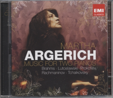 Johannes Brahms / Sergei Rachmaninov / Music For Two Pianos / Martha Argerich / Lilya Zilberstein