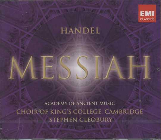 Georg Friedrich Händel / Messiah / Choir of King's College, Cambridge / Cleobury