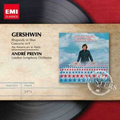 George Gershwin / Rhapsody in Blue / An American in Paris / Concerto in F // Gervase de Peyer / London Symphony Orchestra / Andre Previn