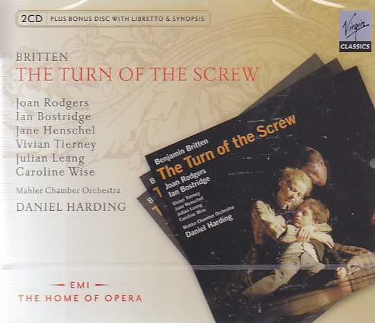 Benjamin Britten / The Turn of the Screw // Ian Bostridge / Joan Rodgers / Mahler Chamber Orchestra / Daniel Harding