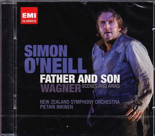 Richard Wagner / Father and Son: Scenes and Arias / Simon O'Neill / New Zealand Symphony Orchestra / Pietari Inkinen