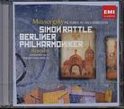 Modest Mussorgsky / Pictures at an Exhibition / Alexander Borodin / Symphony no. 2 / Berliner Philharmoniker / Sir Simon Rattle