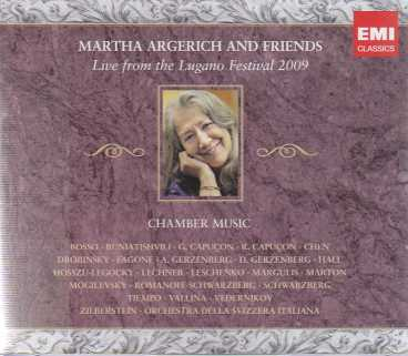Martha Argerich and Friends / Live from the Lugano Festival 2009