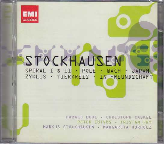 Karlheinz Stockhausen / Spiral / Pole / Japan / Zyklus 2CD