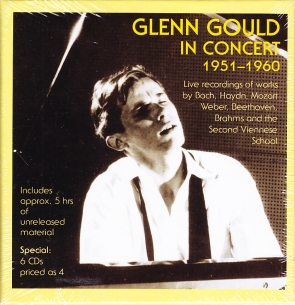 Glenn Gould / In Concert 1951-1960 6CD