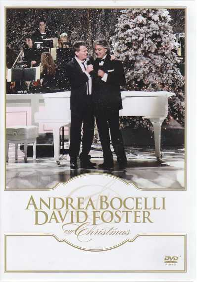 Andrea Bocelli / David Foster / My Christmas DVD