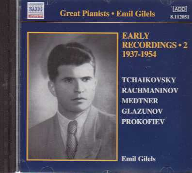Emil Gilels / Early Recordings Vol. 2