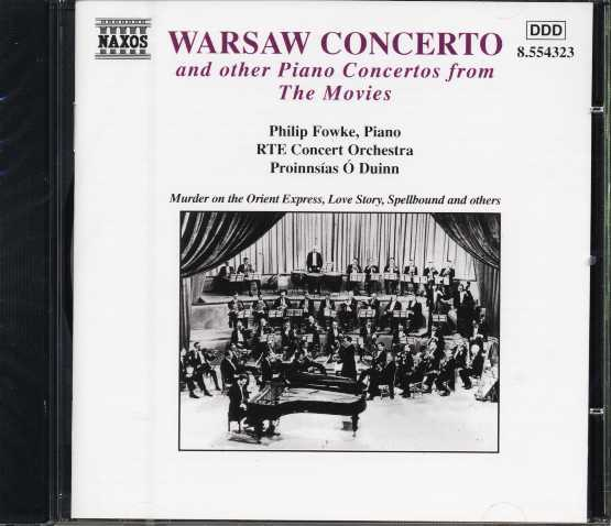 Richard Addinsell / Warsaw Concerto and other piano concertos from the movies (Miklós Rózsa / Nino Rota / Bernard Herrmann et al.)