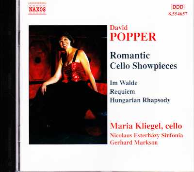 David Popper / Romantic Cello Showpieces / Maria Kliegel