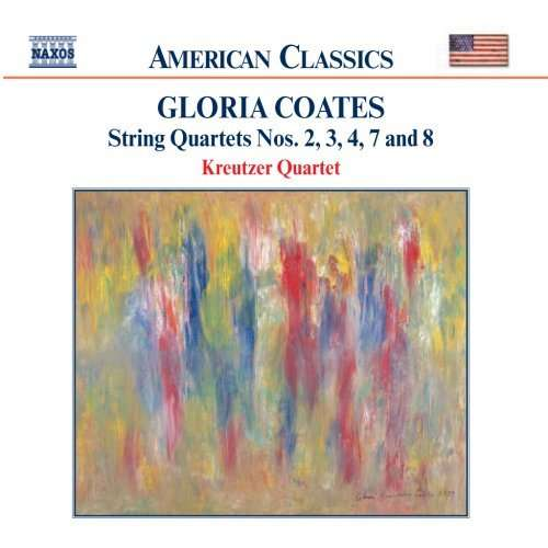 Gloria Coates / String Quartets vol. 2 // Kreutzer Quartet