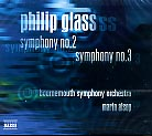 Philip Glass / Symphonies Nos. 2 and 3
