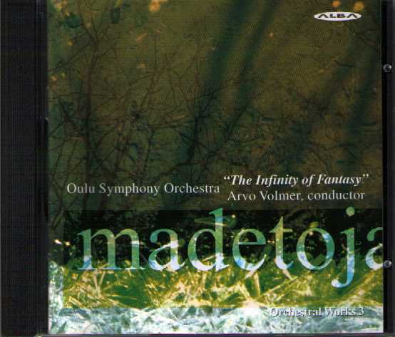 Leevi Madetoja: Orchestral Works 3 / Oulu Symphony Orchestra / Volmer