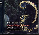 Georg Philipp Telemann / Essercizii Musici, Vol 2 / Battalia 2CD