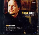 Manuel Ponce / Works for guitar / Ismo Eskelinen