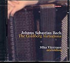 J.S. Bach / Goldberg Variations / Mika Väyrynen, accordion