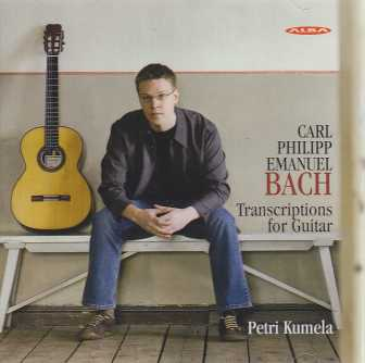 C.P.E. Bach / Transcriptions for Guitar / Petri Kumela
