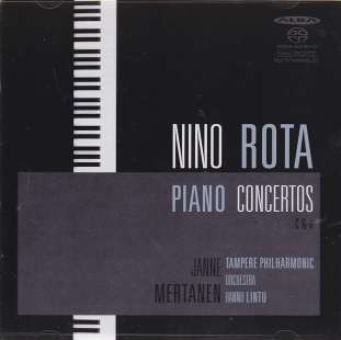 Nino Rota / Piano Concertos / Janne Mertanen / Tampere Philharmonic Orchestra / Hannu Lintu