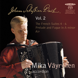 J.S. Bach / French Suites vol. 2 // Mika Väyrynen