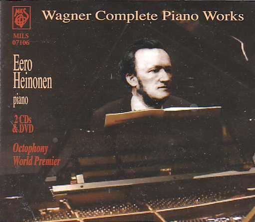 Richard Wagner / Complete Piano Works / Eero Heinonen 3CD