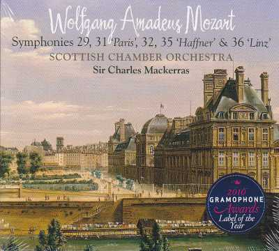 W.A. Mozart / Symphonies 29, 31, 23, 35, 36 / Scottish Chamber Orchestra / Sir Charles Mackerras SACD