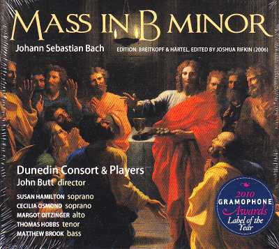 J.S. Bach / Mass in B minor / Dunedin Consort & Players / John Butt