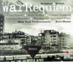 Benjamin Britten / War Requiem / New York Philharmonic / Kurt Masur