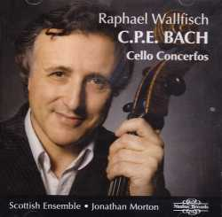 C.P.E. Bach / Concertos for Cello Strings & Continuo / Raphael Wallfisch