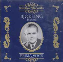 Jussi Björling / Prima Voce, In Song