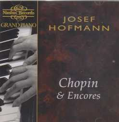 Josef Hofmann / Grand Piano