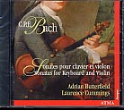 C.P.E. Bach / Sonatas for violin and harpsichord / Adrian Butterfield / Laurence Cummings