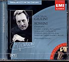 Great Artists of the Century / Rossini: Overtures / Carlo Maria Giulini