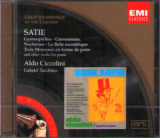 Erik Satie / Works for Piano / Aldo Ciccolini