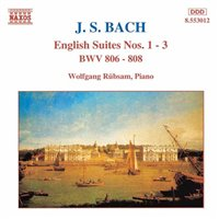 J.S. Bach / English Suites 1-3 / Wolfgang Rübsam