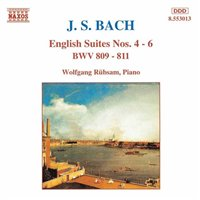 J.S. Bach / English Suites 4-6 / Wolfgang Rübsam