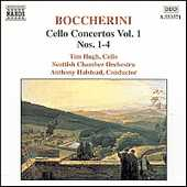 Luigi Boccherini / Cello Concertos Vol. 1 / Tim Hugh