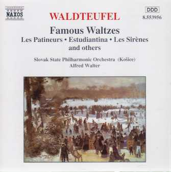 Émile Waldteufel / Famous Waltzes / Slovak State Philharmonic Orchestra / Alfred Walter