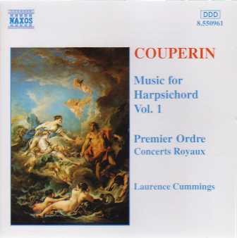 Francois Couperin / Music for Harpsichord Vol 1