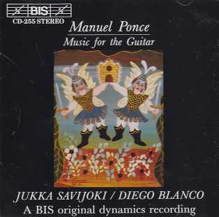 Manuel Ponce / Music for the Guitar / Jukka Savijoki / Diego Blanco