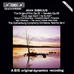 Jean Sibelius / The Origin of Fire, Op. 32 / Sandels, Op. 28
