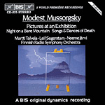 Modest Mussorgsky / Pictures at an Exhibition / Songs and Dances of Death / RSO / Leif Segerstam / Martti Talvela