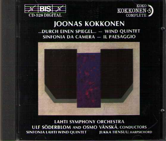 Joonas Kokkonen / Works for Chamber Orchestra